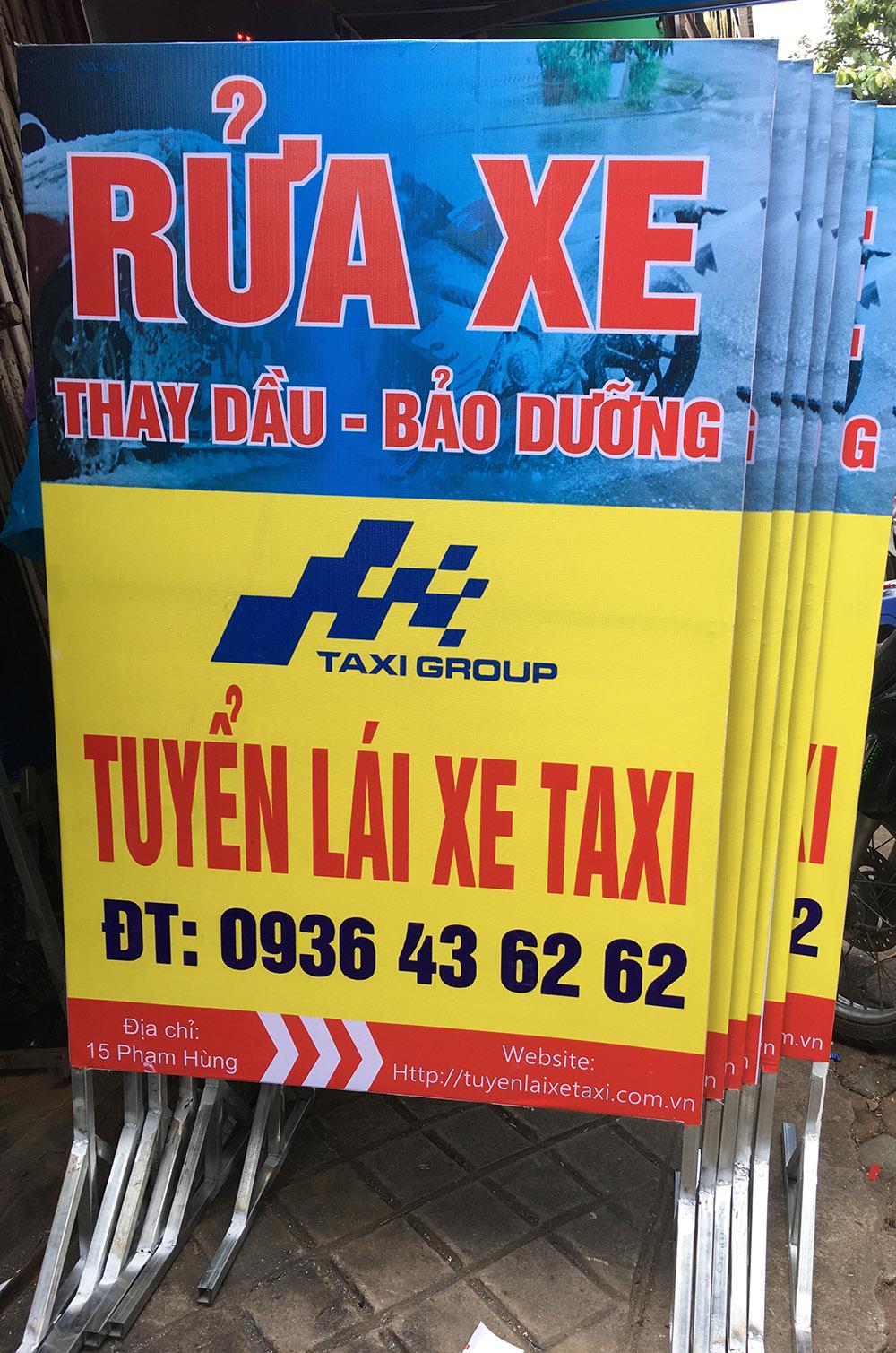 biển quảng cáo ở Vinh